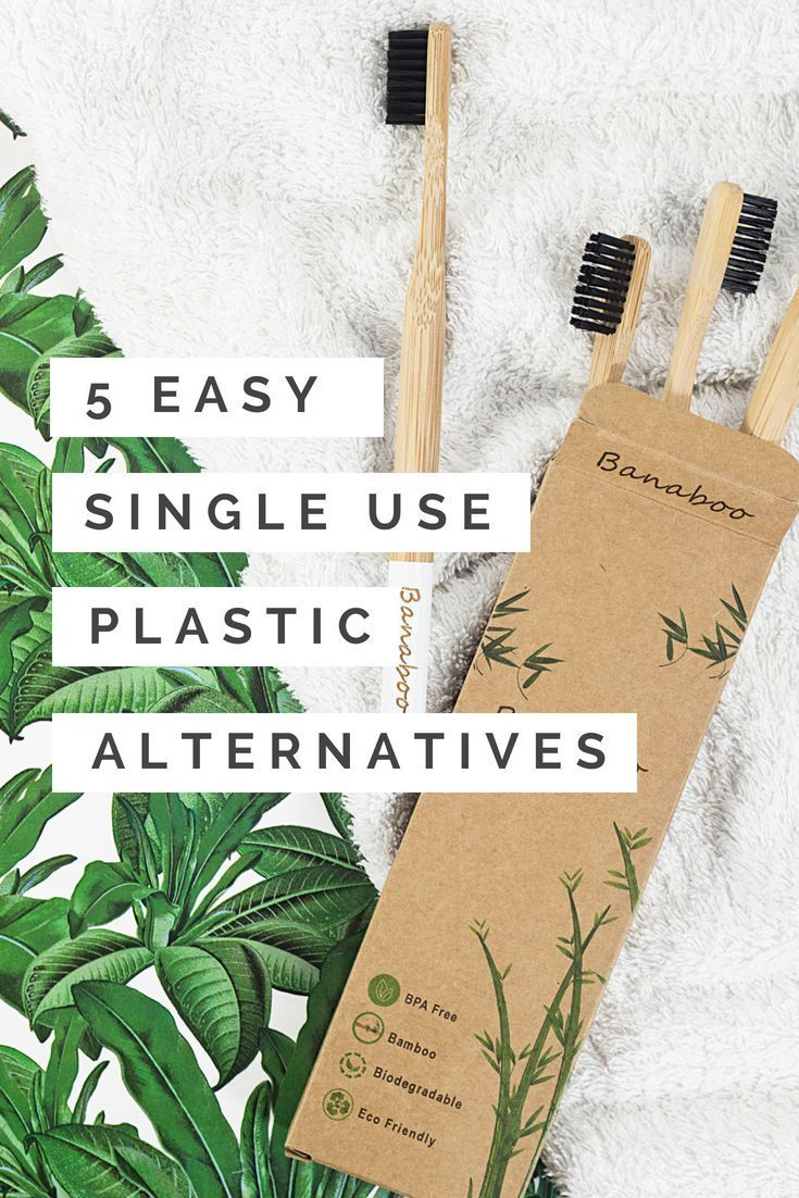 5 Alternatives to single use plastics that you can do right now that also look great! | Plastic alternatives. Plastic free living. Plastic free