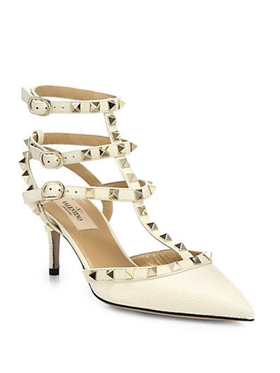 Valentino Lizard Rockstud Pumps quality free shipping for sale outlet 2014 newest cheap websites xlODqq4