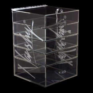 Clear Makeup Organizer – Acrylic Cosmetic and Jewellery Storage Box Nanshy Makeup Accessories