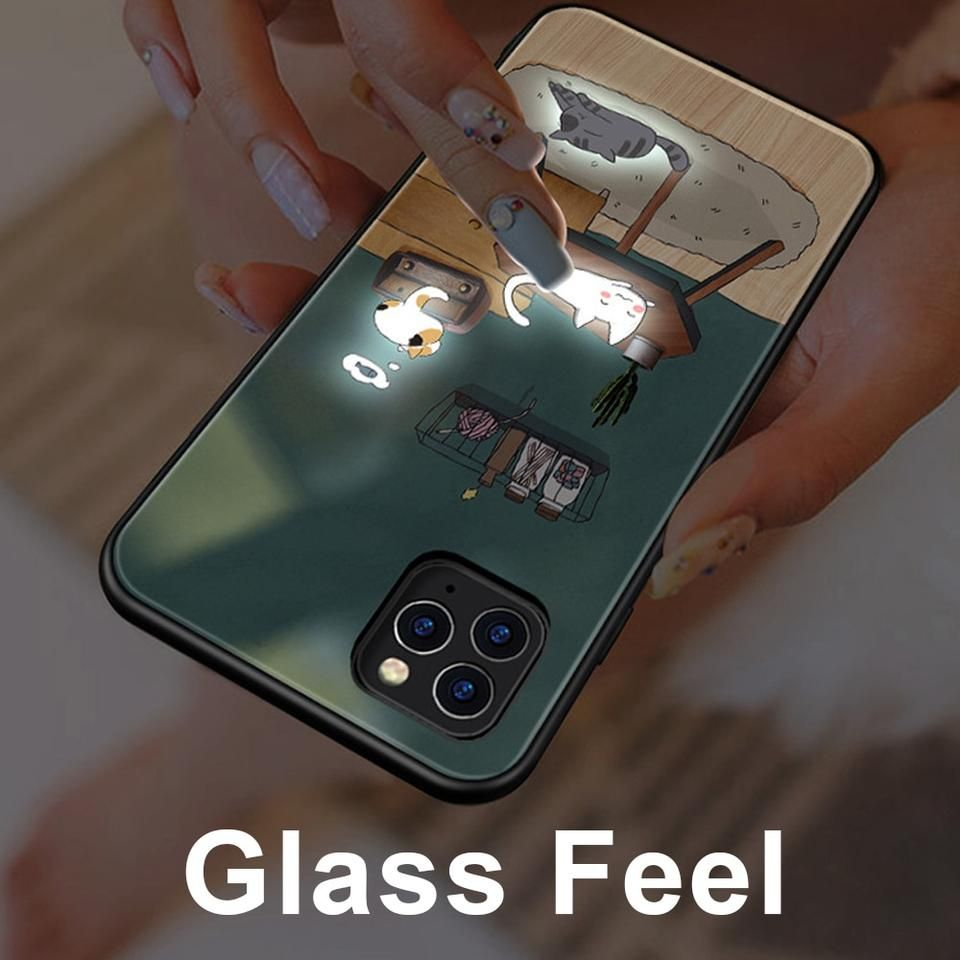 Call lum light up phone case for iphone 11 pro