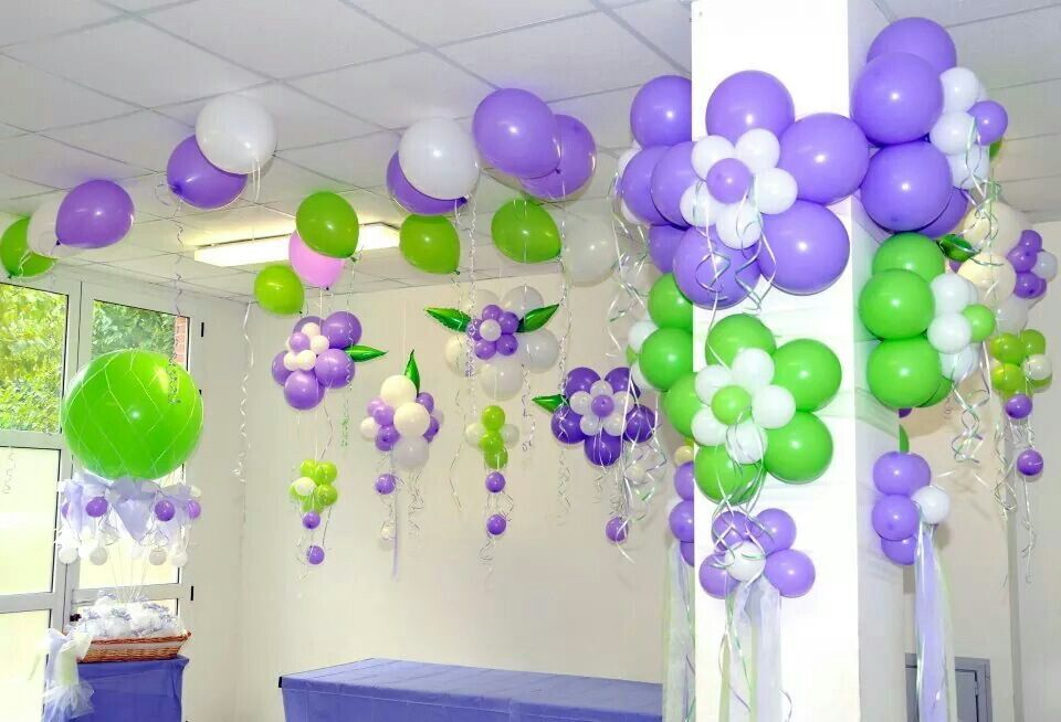 Beautiful colors globos en el cieloraso no necesitan for Balloon arch tape