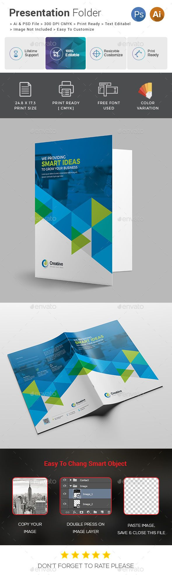 Presentation Folder | Carpetas corporativas y Carpeta