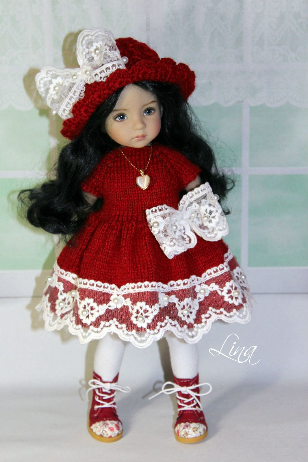 """The outfit for doll 13"""" Little Darling"""