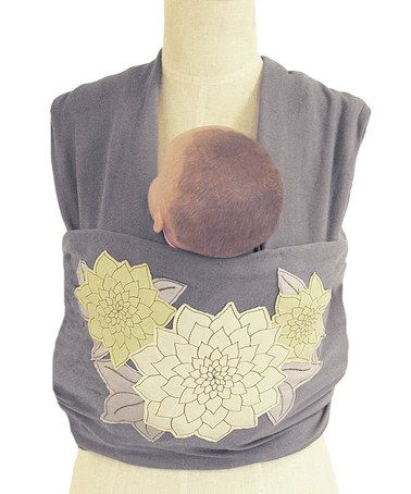This Stella Knit Wrap Carrier By The Peanut Shell Is Perfect
