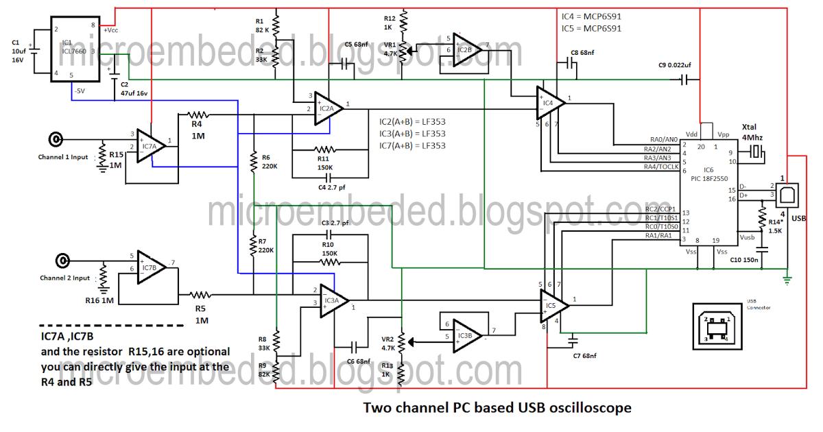 Osciloscopio Pc Circuit Diagram Circuit Diagram