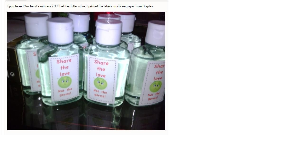 Personalized Hand Sanitizer Hand Sanitizer How To Make Labels