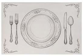 I love these disposable placemats by Cake!