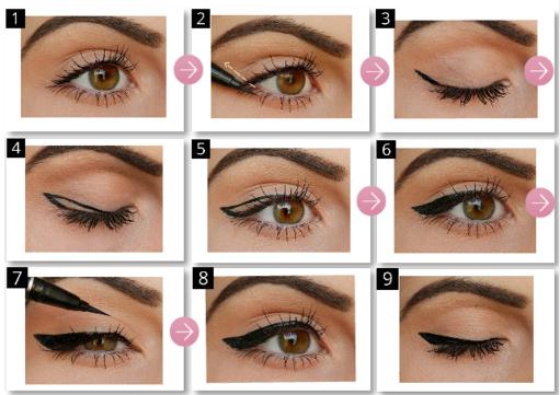 Astuce pour bien tracer l\u0027eye liner le feutre eye liner ,