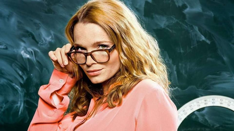 German Actress Karoline Herfurth Wearing Mykita Collection No2 Armida In Her Latest Movie Fack Ju Gohte By Bora Dagtekin Mykita Eyewear Design Eyewear