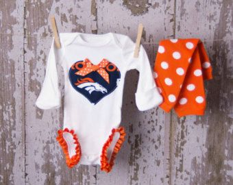 Loley pops creations Broncos furry baby boots 0 3 mon limited supply! -this  creation is made by me and not affiliated with NFL  94ce10f0a