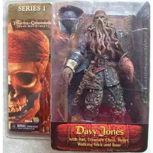 """Neca - Piratas del Caribe """"El cofre del hombre muerto"""" Serie 1 - Davy Jones"""