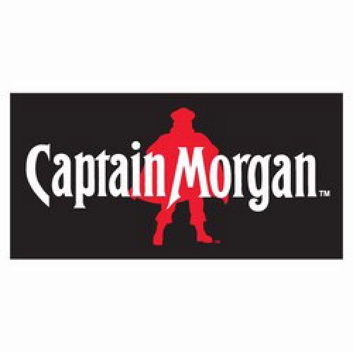 Captain Morgan Black Red Beach Towel Officially Licensed From