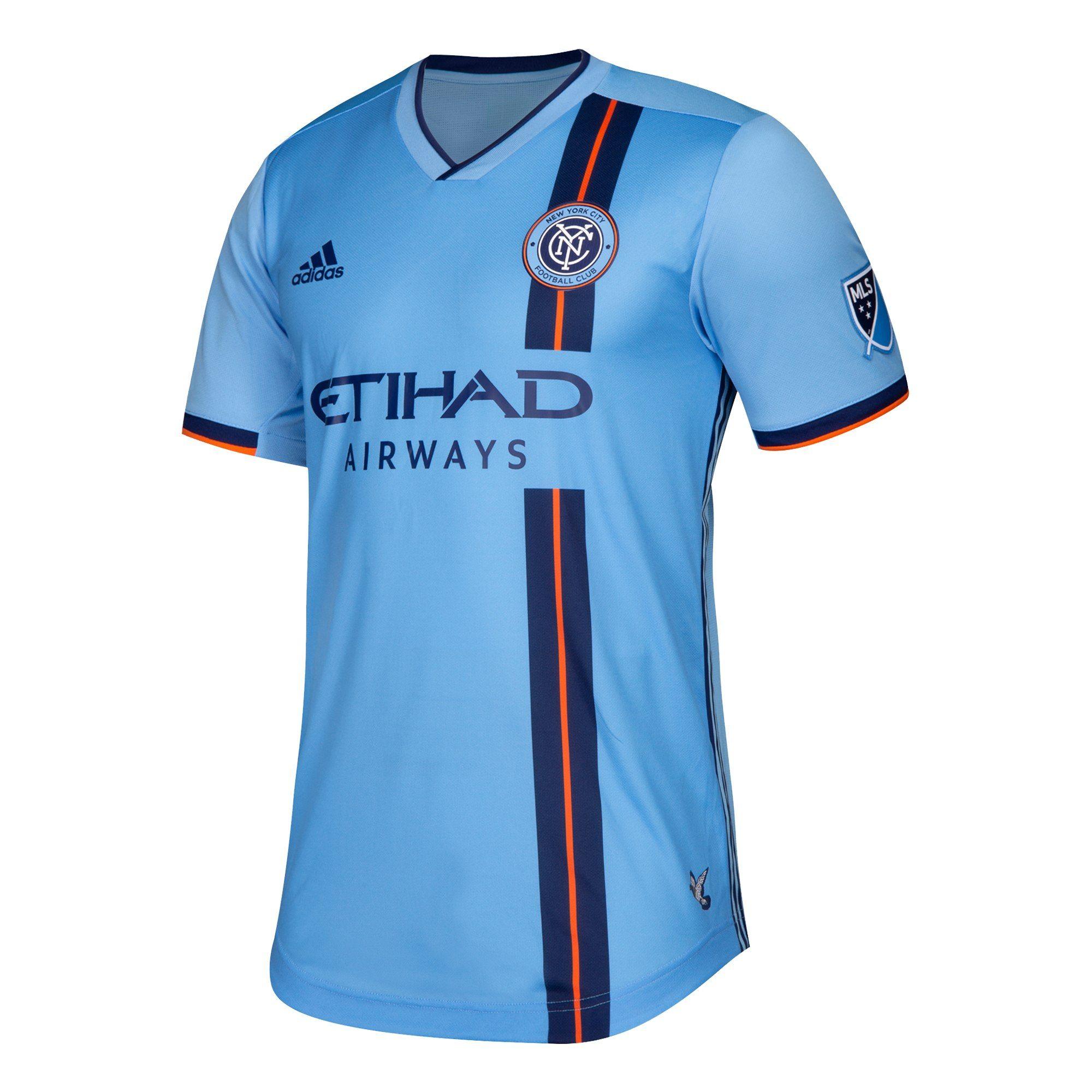 bb2e3a75e6 New York City 19/20 home | kits / clubs | New york city fc, New york ...