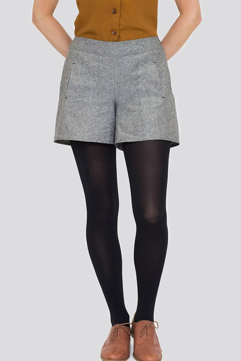 Iris shorts sewing pattern from Colette Patterns | My Wardrobe ...