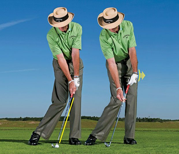 David Leadbetter Get A Feel For Solid Strikes Best Golf Clubs Golf Swing Golf Tips For Beginners