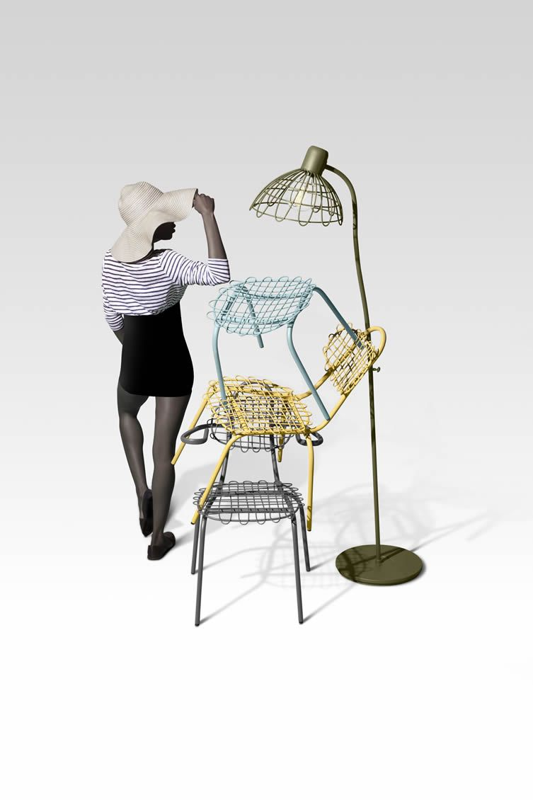 Dutch Design Studio Sketch Up Playful Outdoor Furniture Designs For An  Eye Popping Summer Season