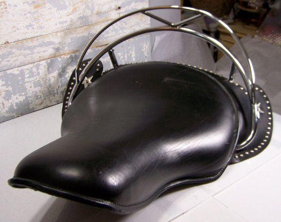 Vintage Motorcycle Seat