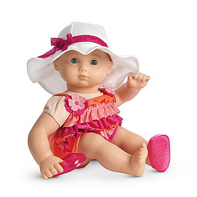 American Girl Bitty Baby Swim Set $26 #Americangirl