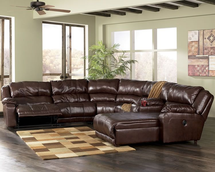 Leather sectional furniture yahoo search results sofas for Living room leather sectionals