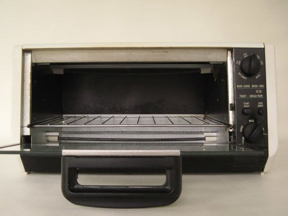 Black Decker Spacemaker Toaster Oven Tro505 By Lauraslastditch 59 99 Toaster Oven Black Decker Toaster