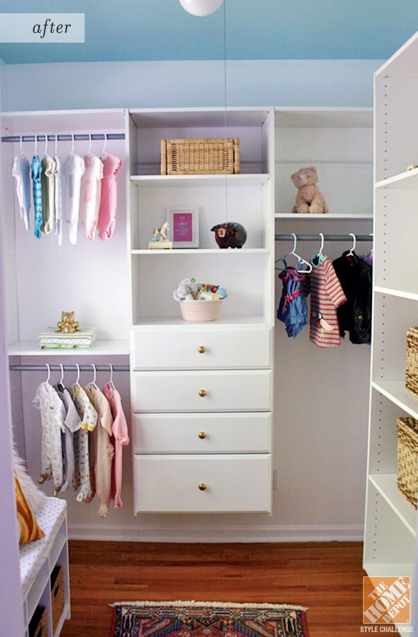 Lovely Closet Organization Ideas For A Nursery: The Closet After The Makeover