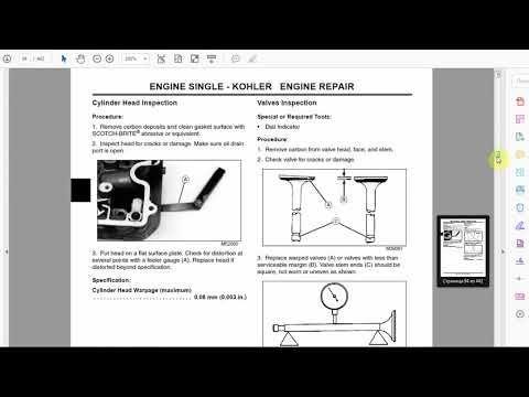 John Deere L100 - L130 series OEM Repair Manual in PDF format is a