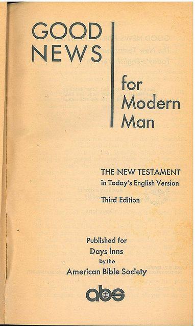 TEV NT 3rd Title, Bible In My Language