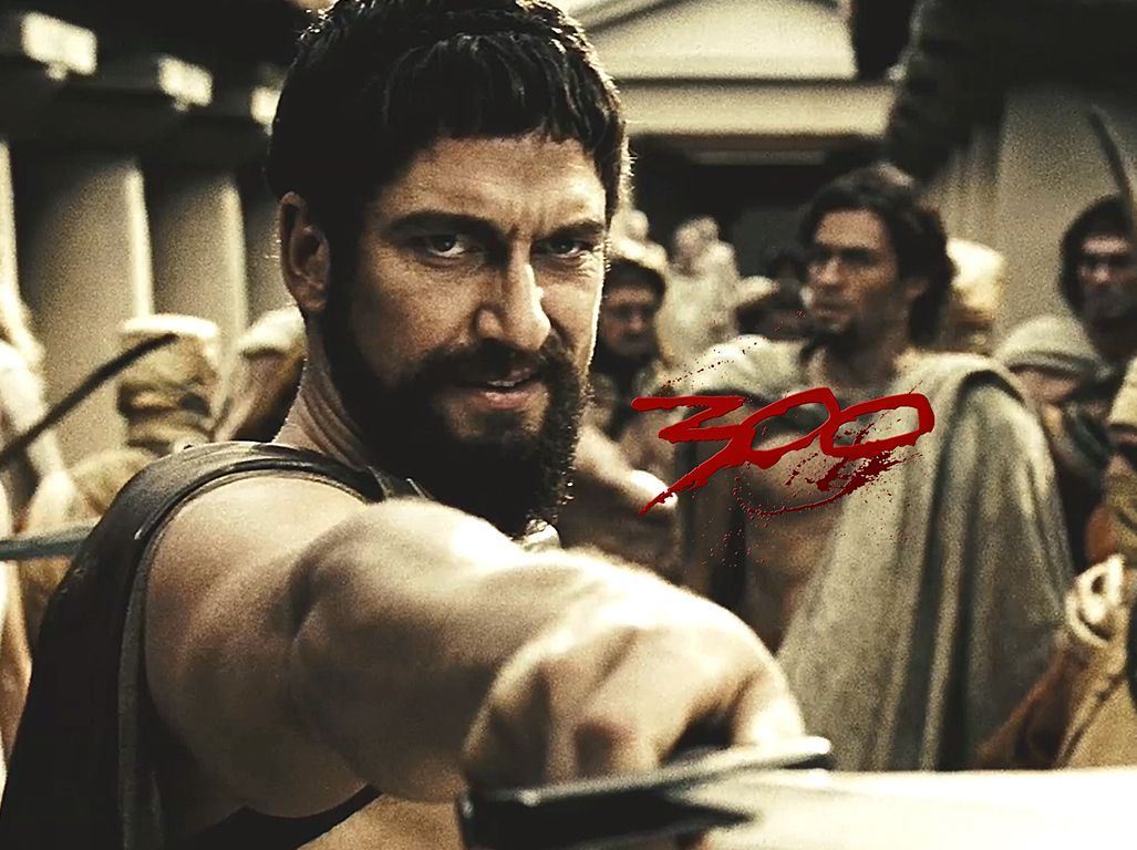 Gerard Butler in 300 | Beautiful People, Body Art and more ...