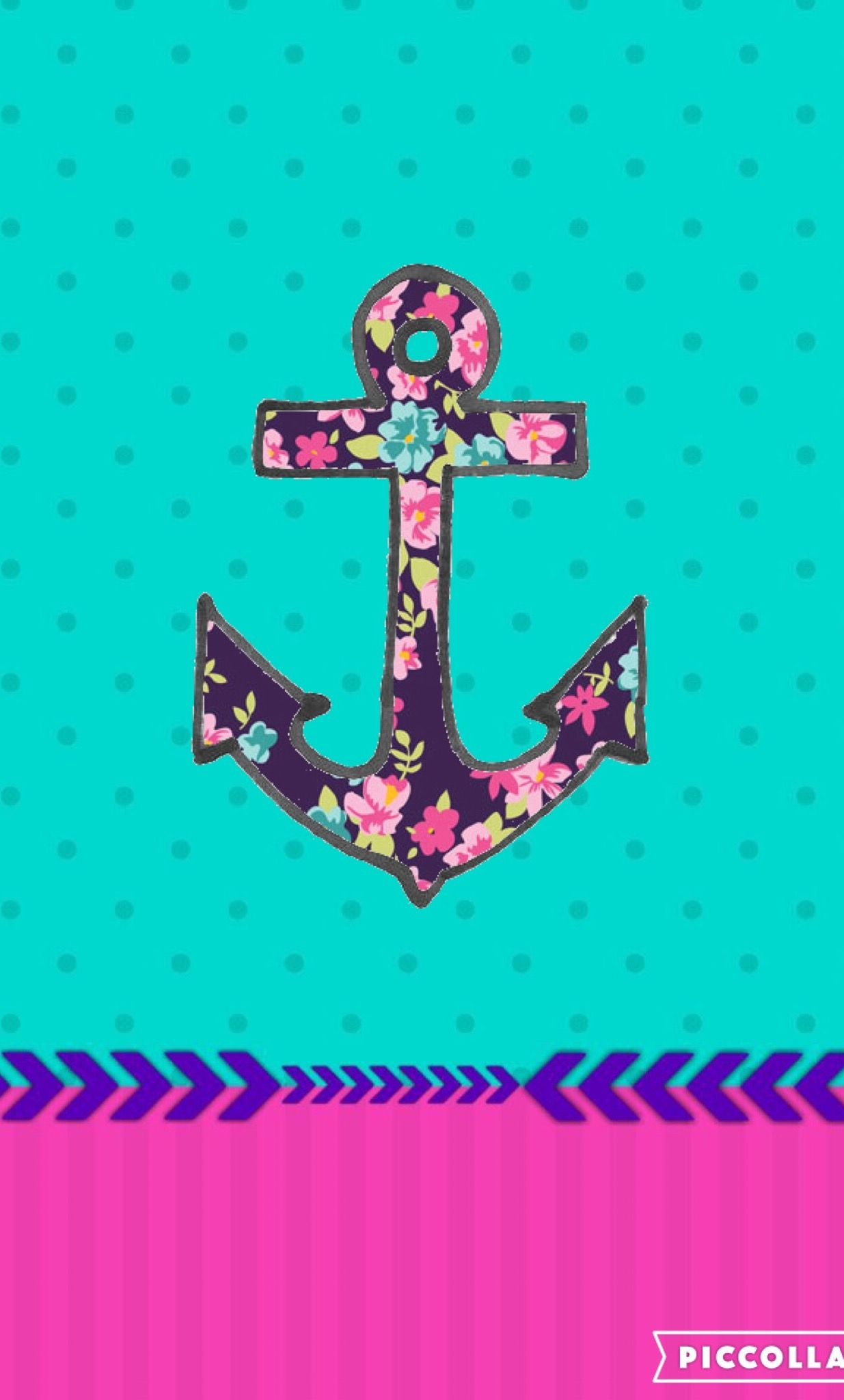 Anchor cute girly | Ip...