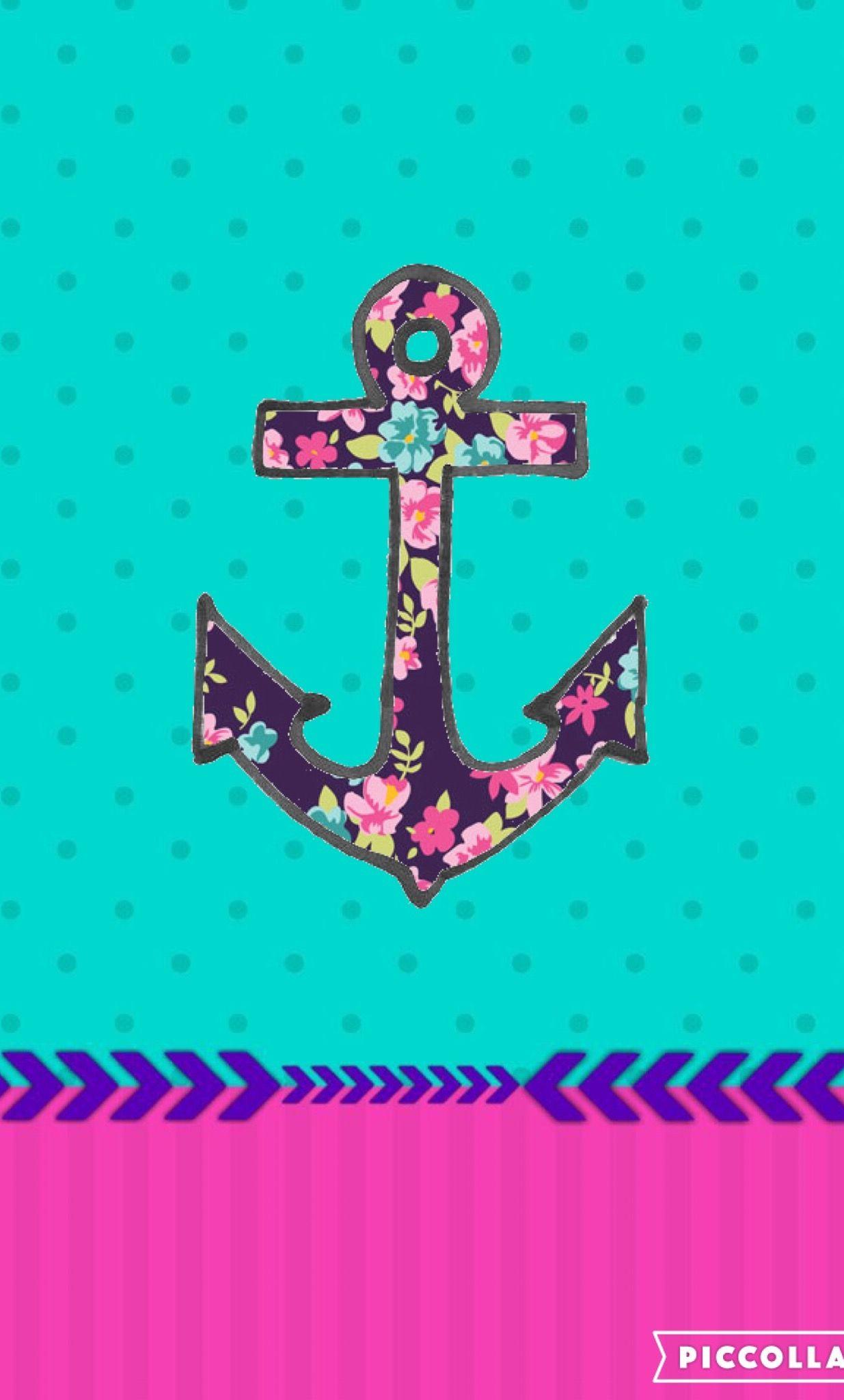 Anchor Cute Girly Anchor Wallpaper Cross Wallpaper Funny Phone Wallpaper