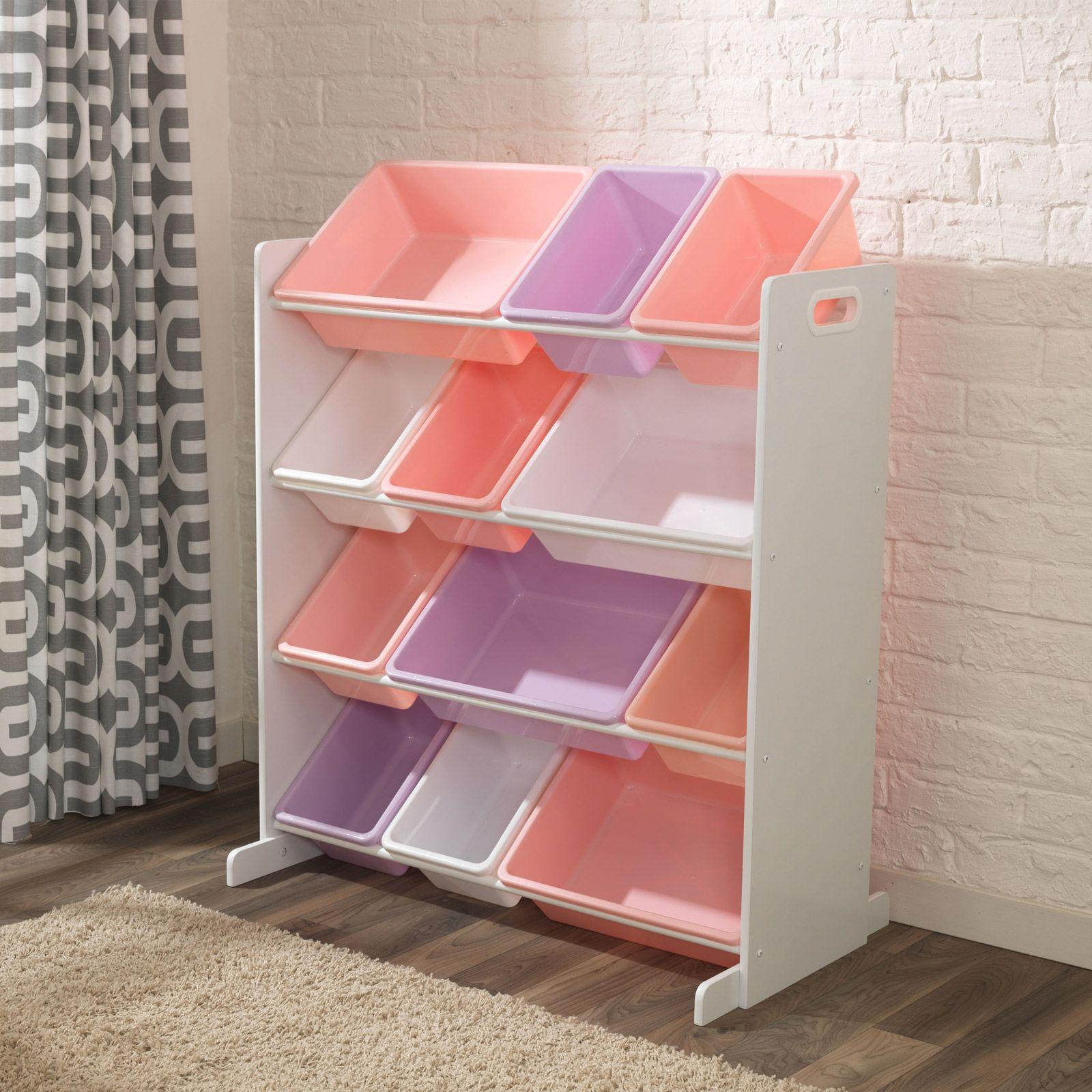 Meuble De Rangement Sort It Store It Pastel 12 Bacs Casier Rangement Meuble Rangement Rangement Enfant