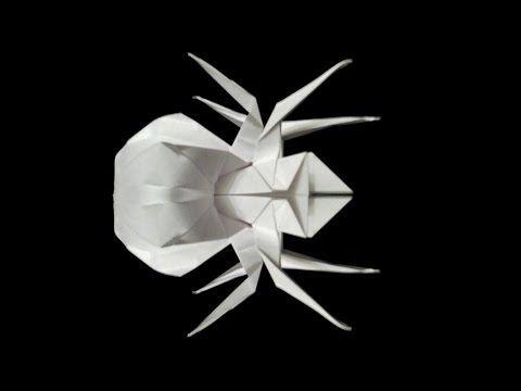 tuto origami araignee