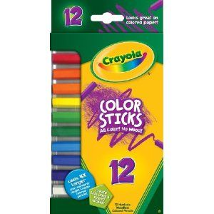 Crayola 12ct Color Sticks 6 50 I Found Mine On Clearance At