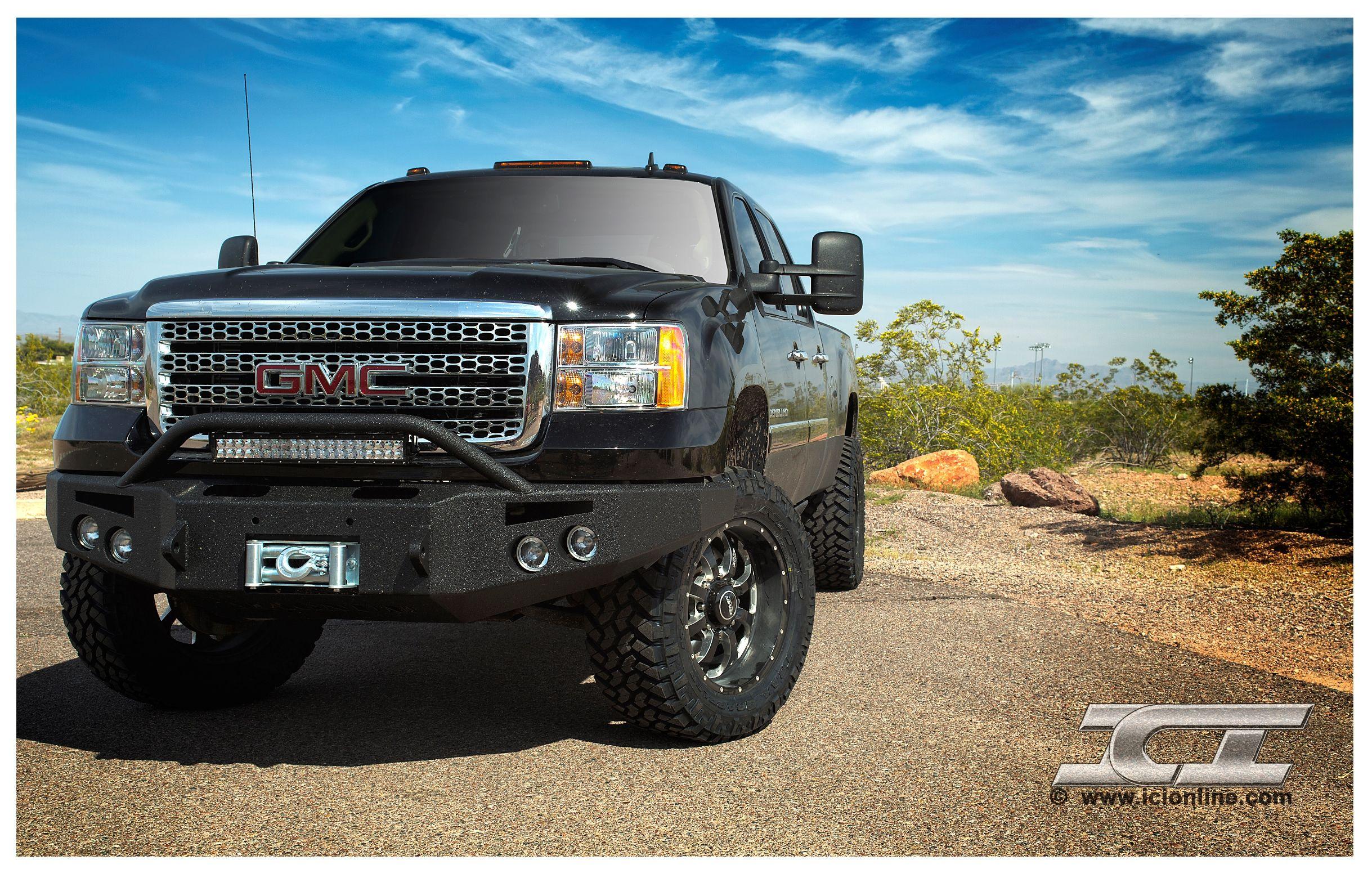 2011 2013 Gmc Sierra Hd Denali W Ici Magnum Bumpers Trucks Gmc