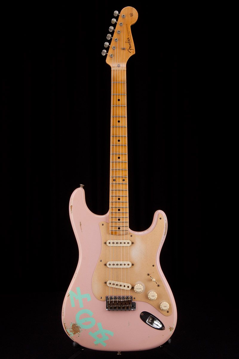 Fender Custom Shop Masterbuilt By Dennis Galuszka 1950s Girl 5039s And Modern Wiring Style Diagram From Http Wwwmylespaulcom Strat Relic Shell Pink