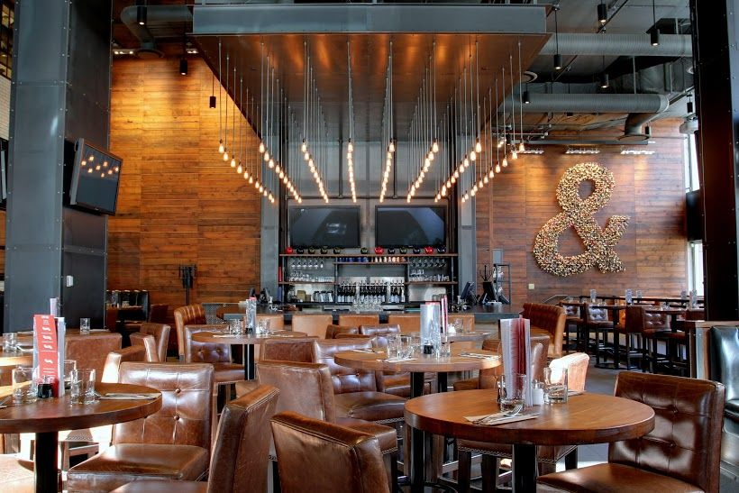 Earls test kitchen restaurant bar and lounge design