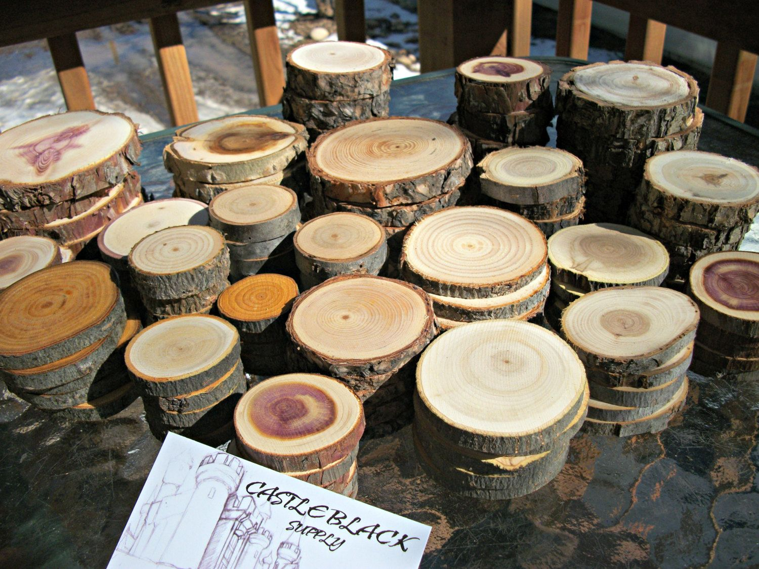 12++ Wholesale wood slices for crafts info
