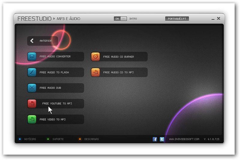 A DVDVideosoft melhora o seu conversor gratuito Free YouTube to MP3 Converter