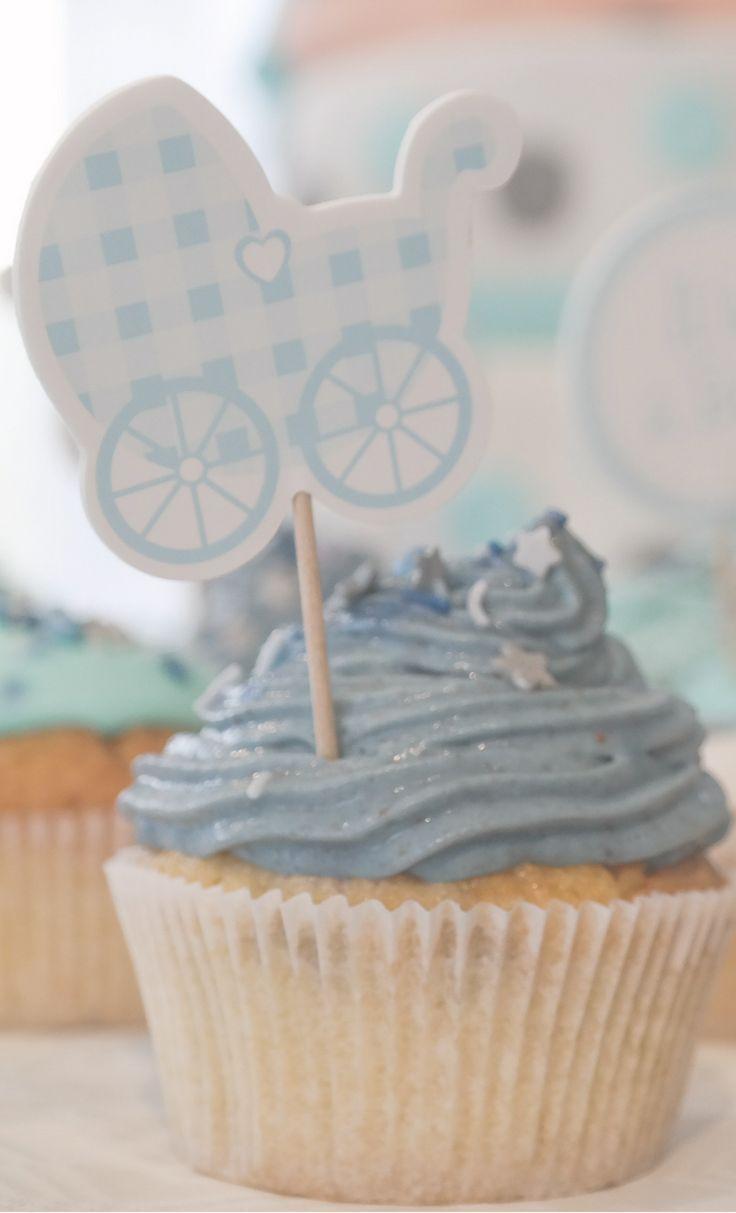 Photo of Erdbeer Cupcakes Rezept von unserer Babyparty – Ein Mamablog für Familien / alles rund ums Baby und Kind