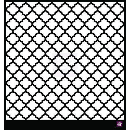 Moroccan stencil pochoir marocain diy pinterest pochoir marocain pochoir et motif arabe - Motif oriental a imprimer ...