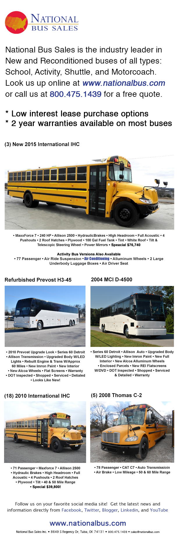 2010 international school bus for sale