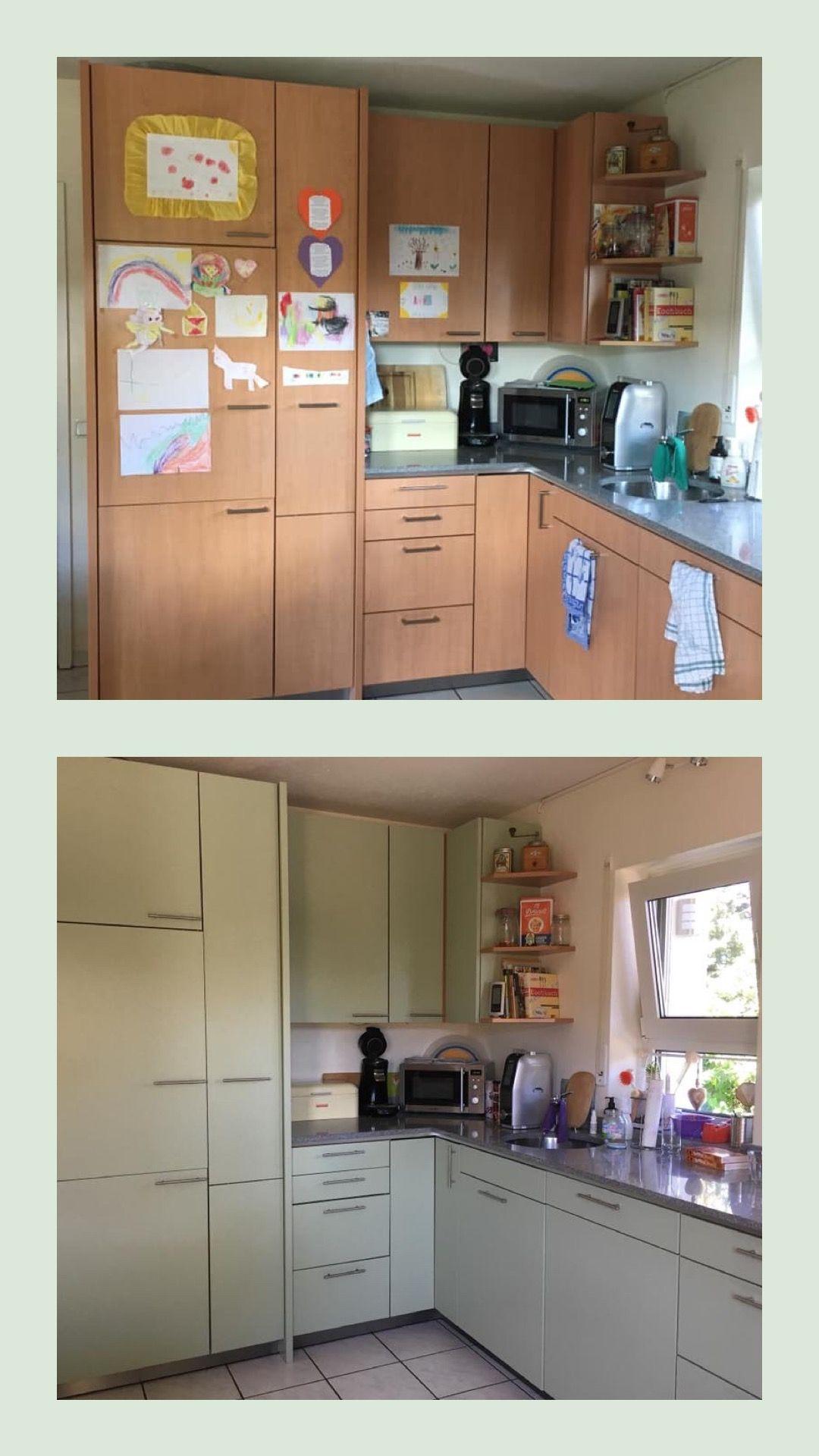 Küche Streichen Mit Kreidefarbe Und Kreidelacken Misspompadour Küchen Streichen Umbau Kleiner Küche Küchenumbau