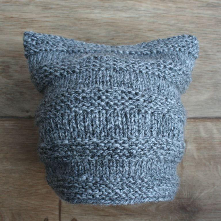 Dětská pletená čepice - pro šikovnou babičku