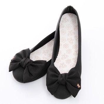 0dde9aad19d BN Satin Wedding Bowed Comfy Darling Ballerinas Ballet Flats Shoes ...