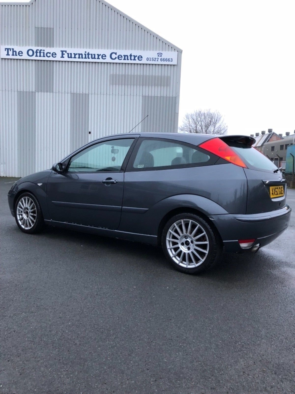 This Ford Focus St170 2002 Magnum Grey Is For Sale Fast Fords