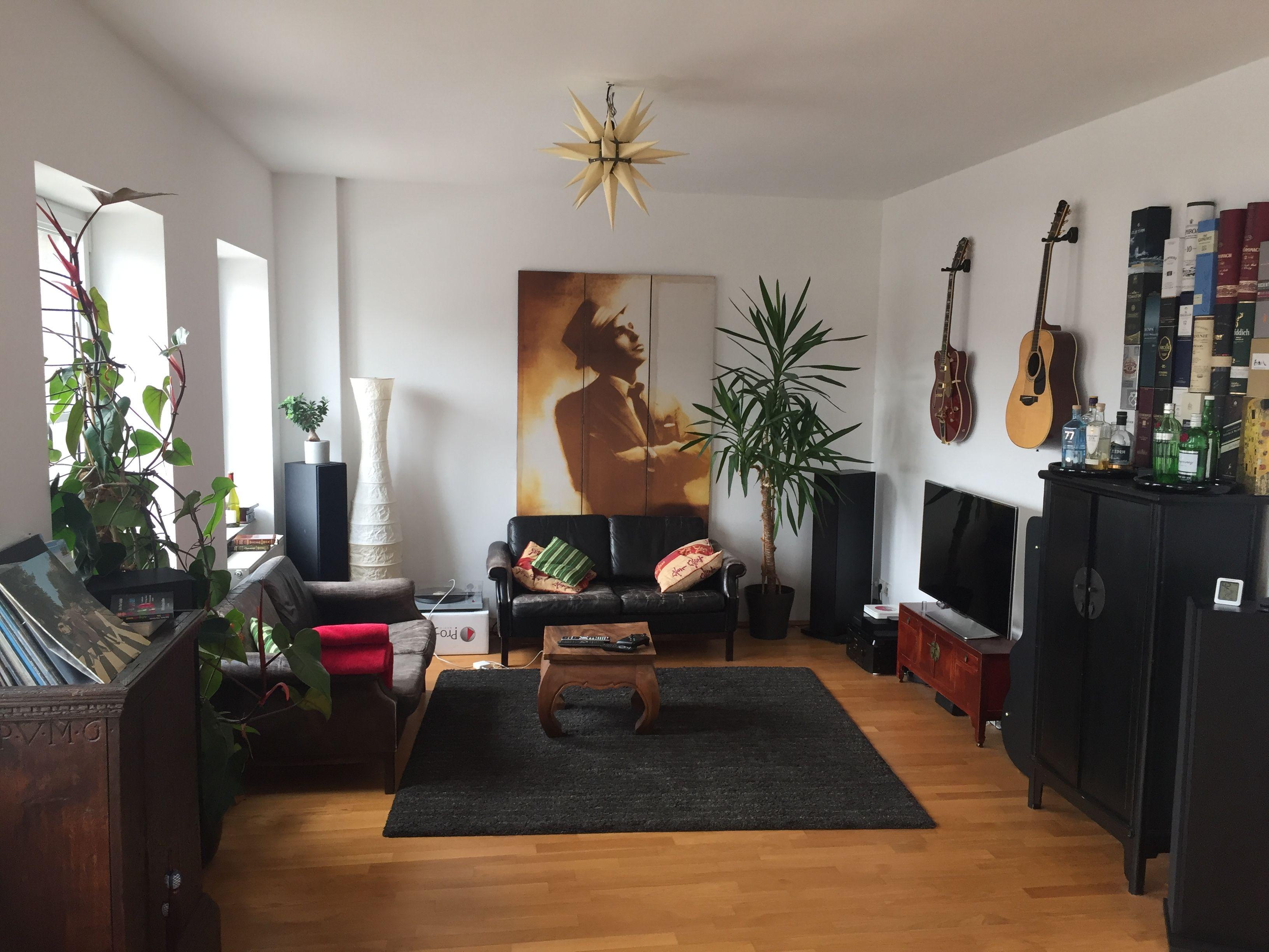 Dieses gemütliche Wohnzimmer im Herzen Kölns wurde