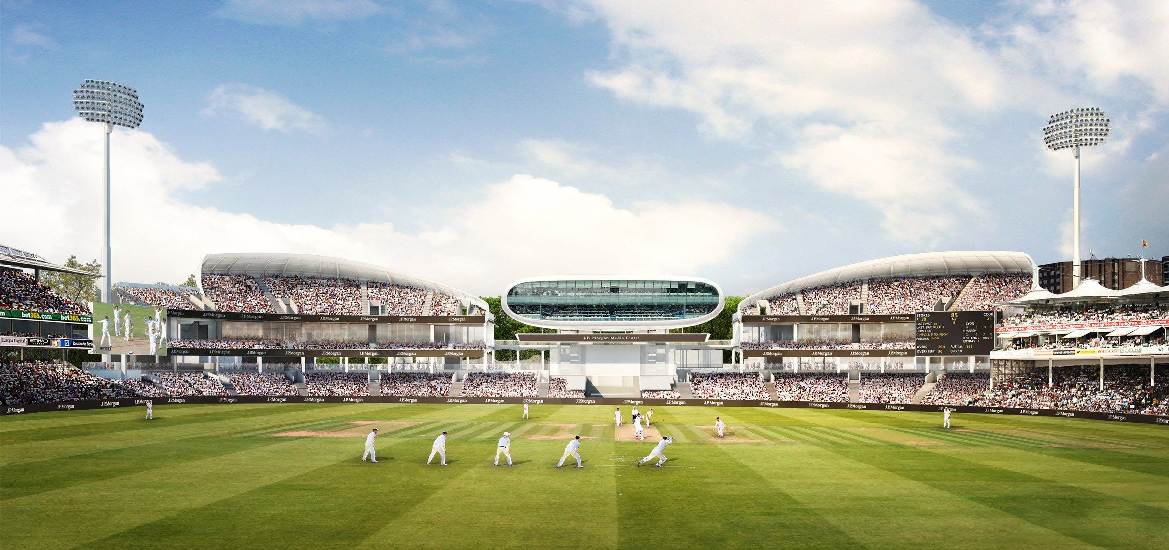 50m Stands Approved For Lords Cricket Ground Seating Plan Cricket Concept Architecture