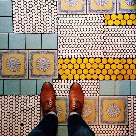 Photo of tile for days. | sfgirlbybay