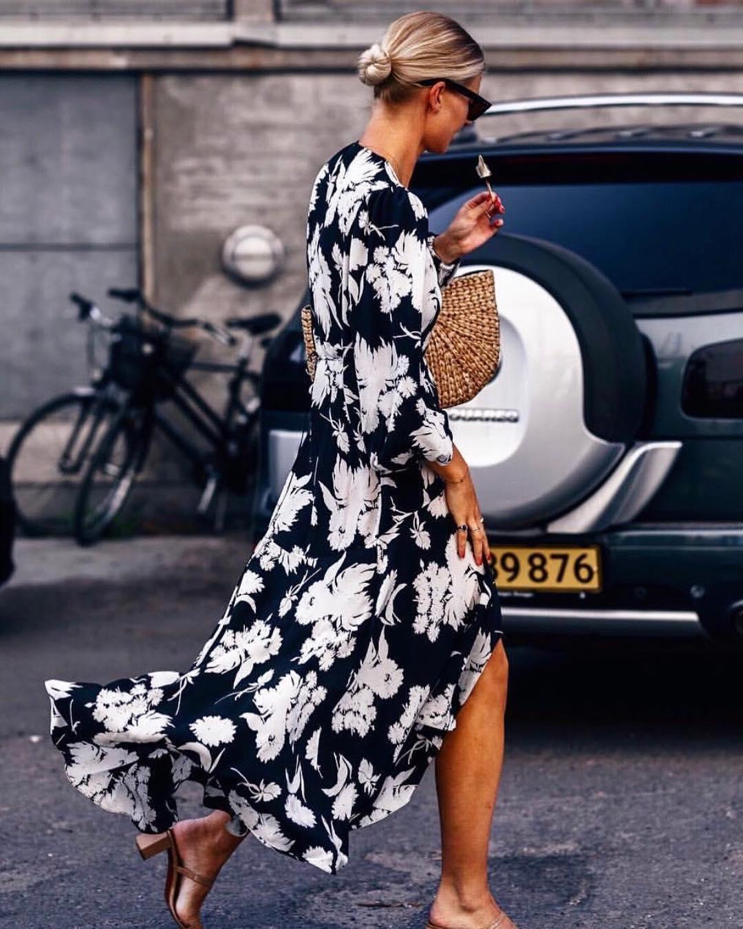 873e019a Ganni street style | Mode Sportif | Kochhar Wrap Dress ...