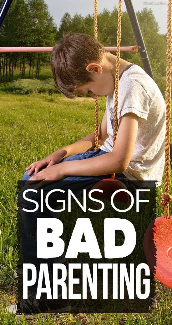 Signs Of Bad Parenting: Are You One Of Them? #parenting